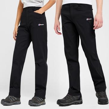Black Berghaus Kids' Walking Trousers