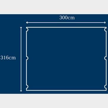 blue Berghaus Air 8 Carpet