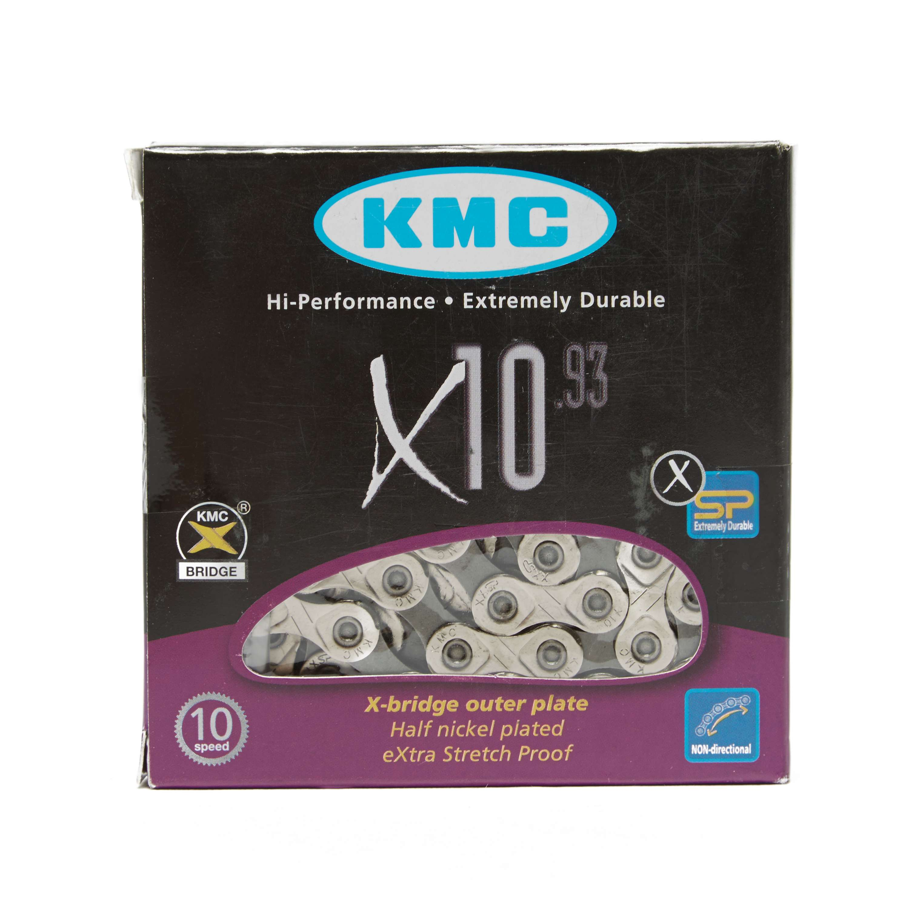 KMC CHAINS 114 Link 10 Speed Chain