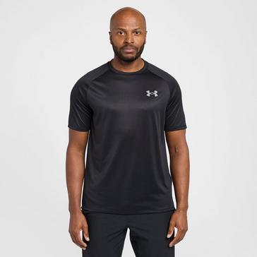 Black Under Armour Men's Tech™ 2.0 Short Sleeve T-Shirt