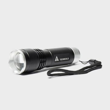 Black Technicals 3W CREE Aluminium Torch