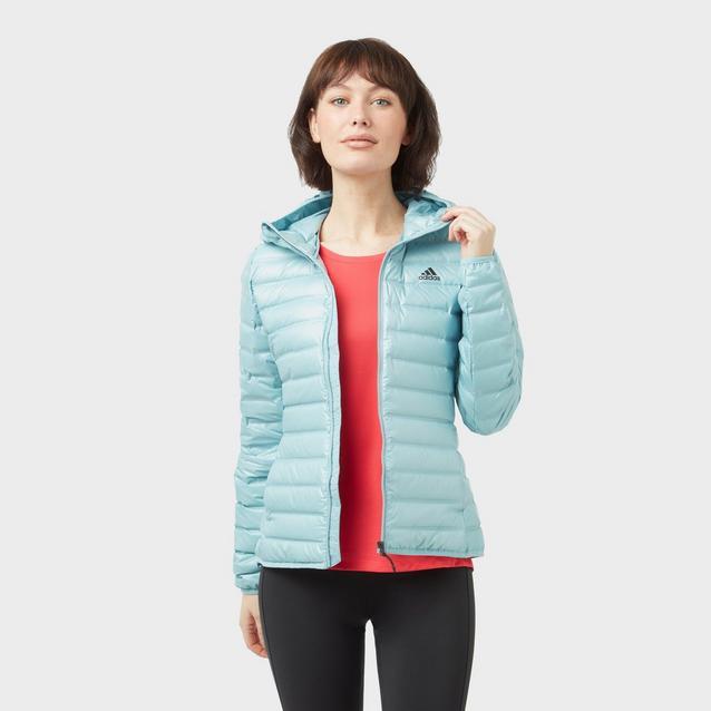 38cc68c0f adidas Women's Varilite Hooded Jacket image 1