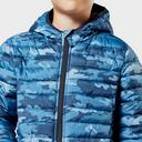 Navy JOULES Juniors' Cairn Packable Jacket image 5