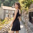 Black Roxy Women's Buying Time Tank Dress image 2