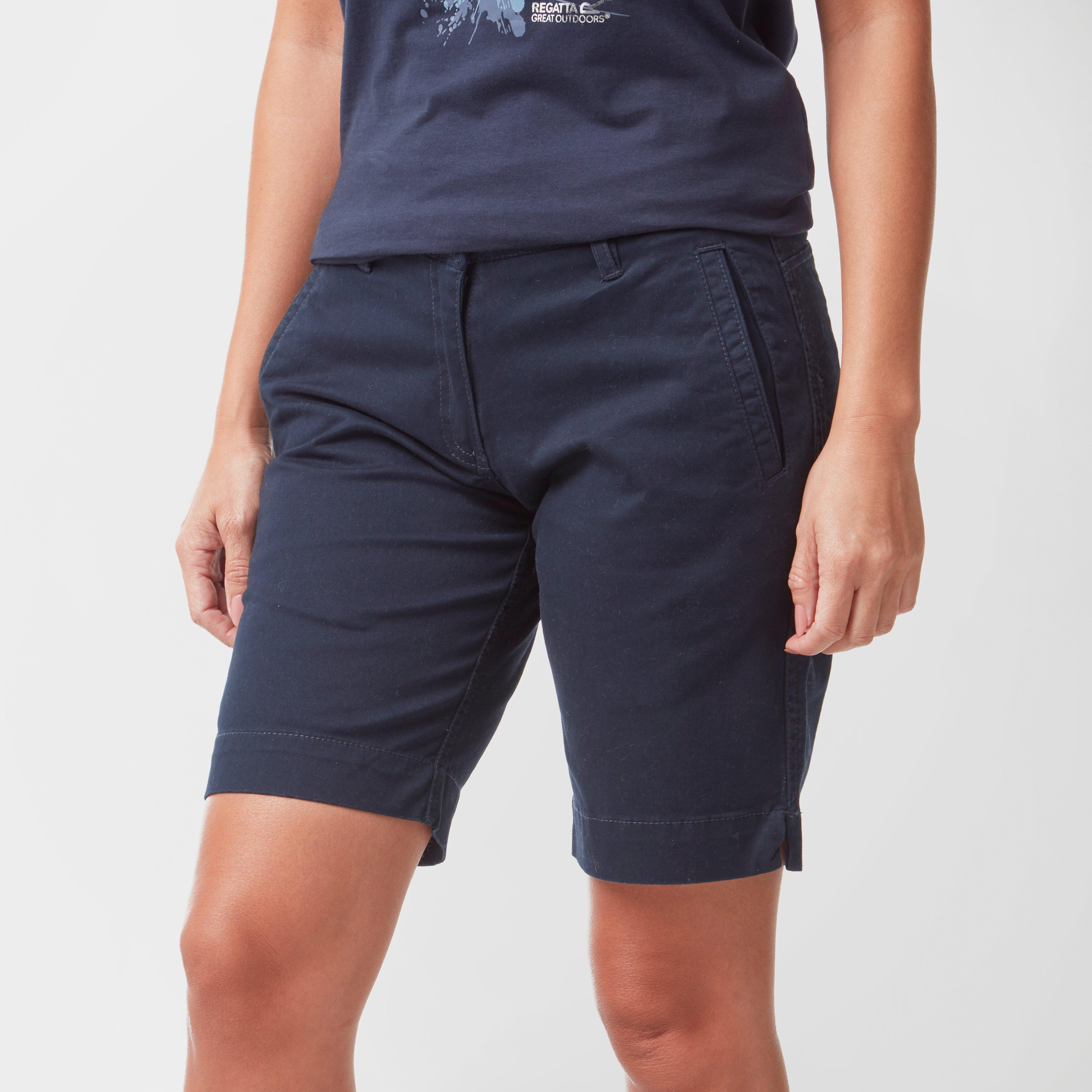 Regatta Regatta Womens Solita Stretch Shorts - Navy, Navy