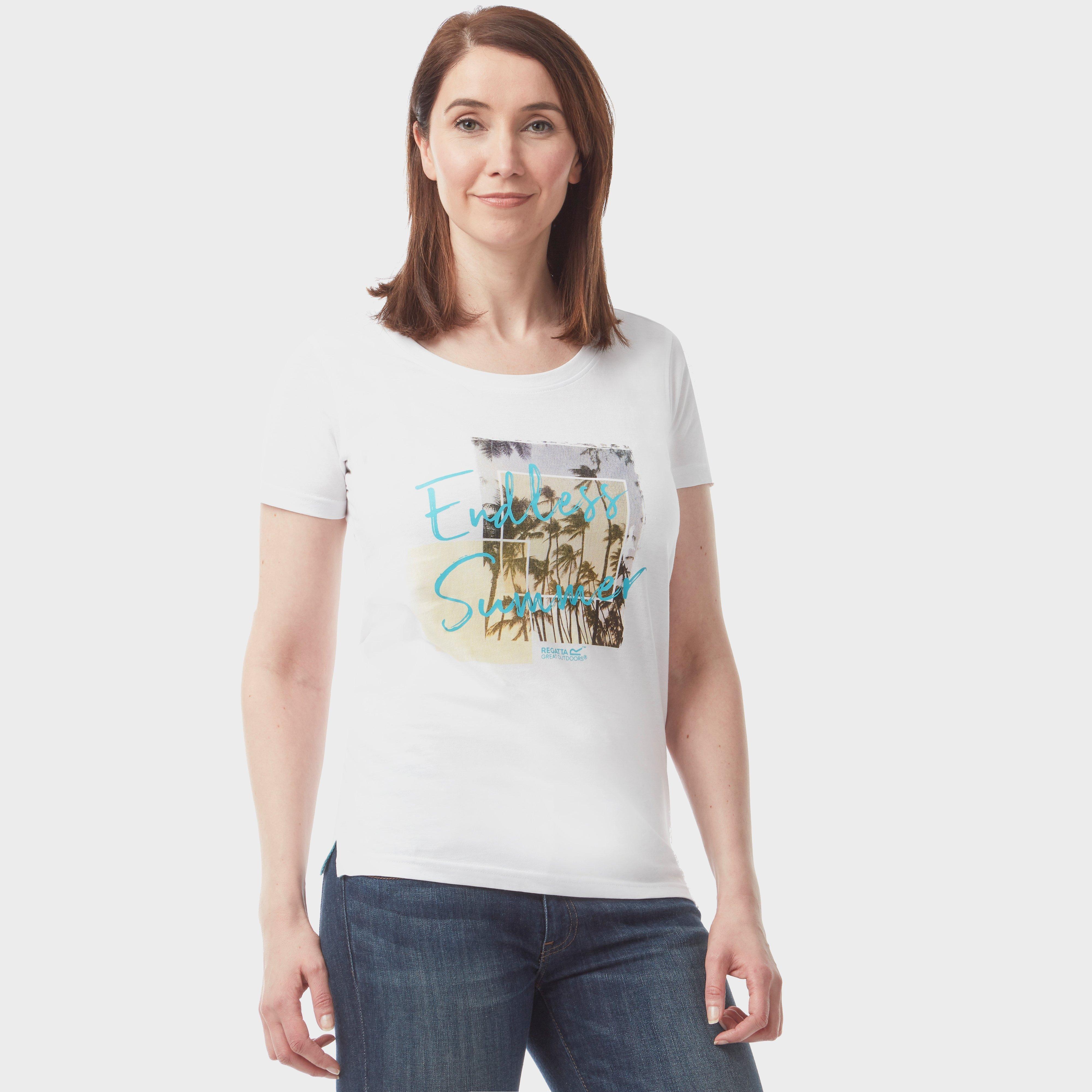 Regatta Regatta Womens Filandra T-Shirt - White, White