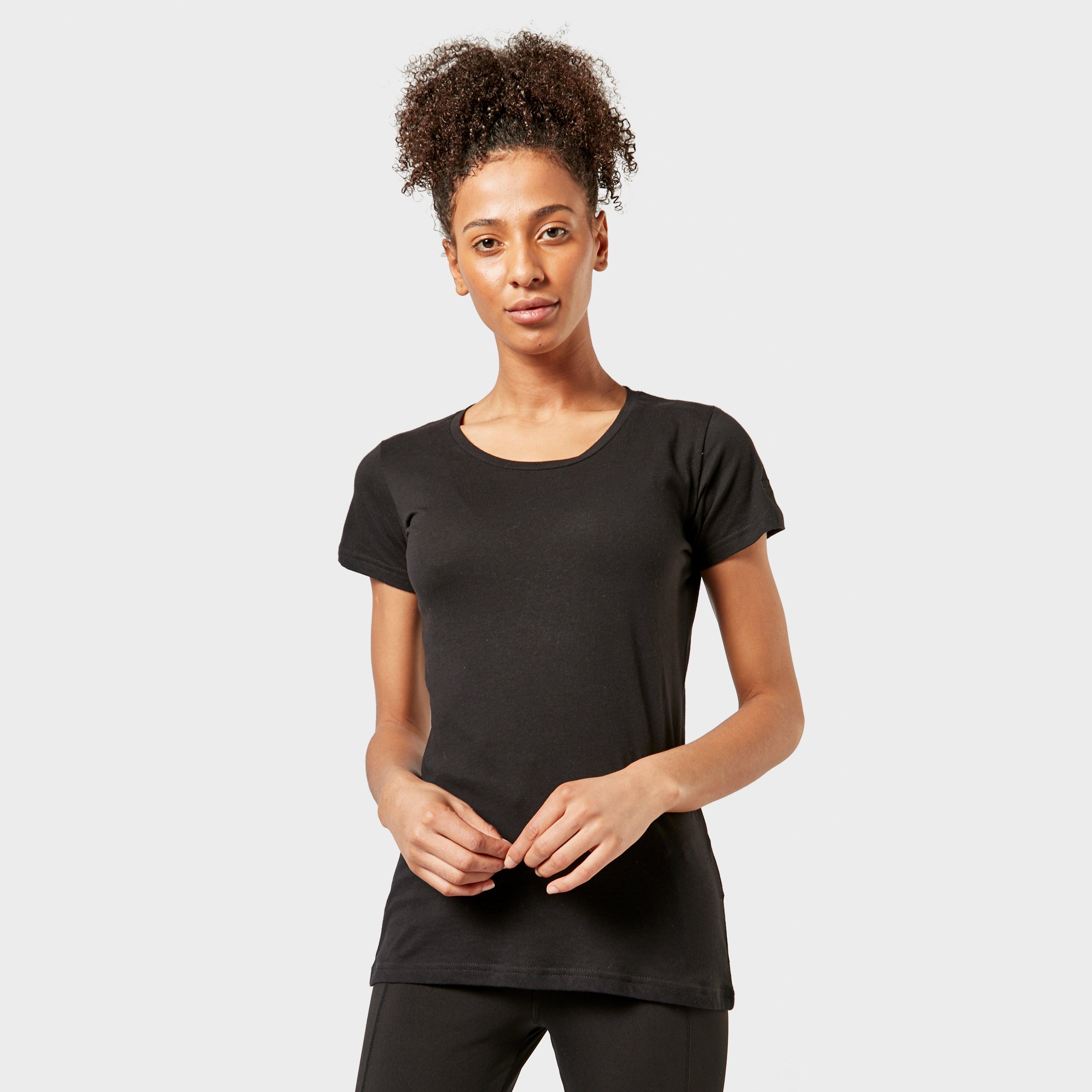 Regatta Regatta Womens Plain T-Shirt - Black, Black
