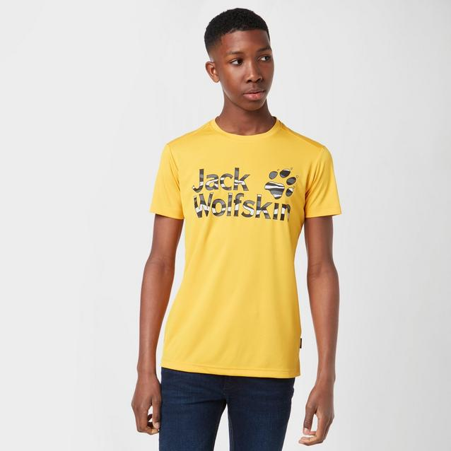 754cb3c566 JACK WOLFSKIN Juniors' Jungle T-Shirt image 1