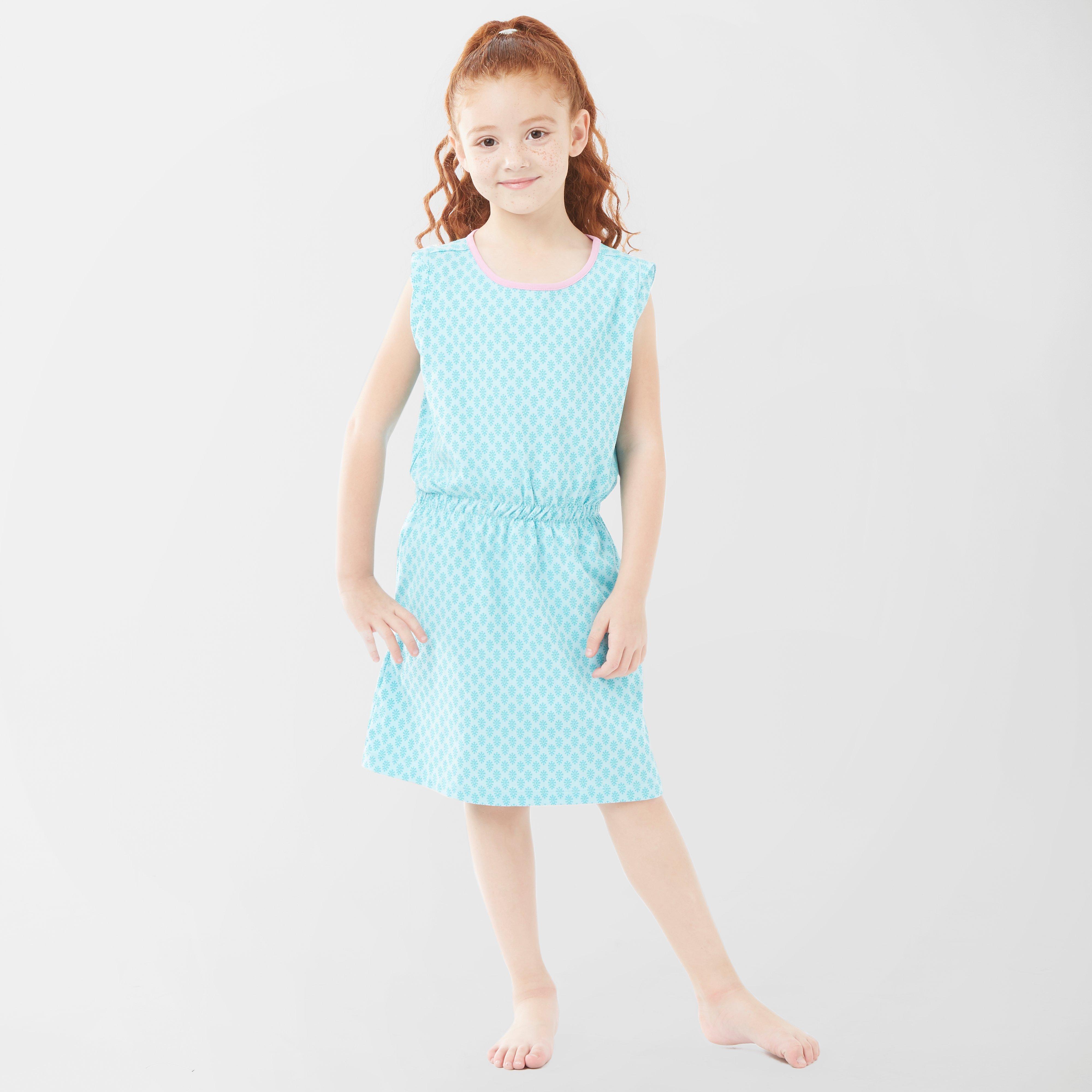 Jack Wolfskin Kids Lily Lagoon Dress, Blue