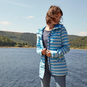 Blue Weird Fish Women's Antonia Showerproof Jacket