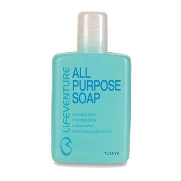 Blue LIFEVENTURE All Purpose Soap 100ml