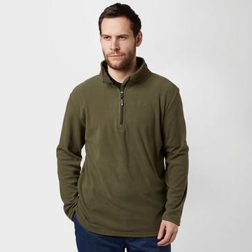 Green Peter Storm Men's Ullswater Half Zip Fleece