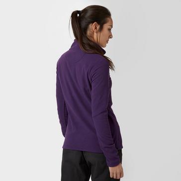 Purple Peter Storm Women's Half-Zip Grasmere Fleece