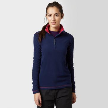 Navy Peter Storm Women's Half-Zip Grasmere Fleece