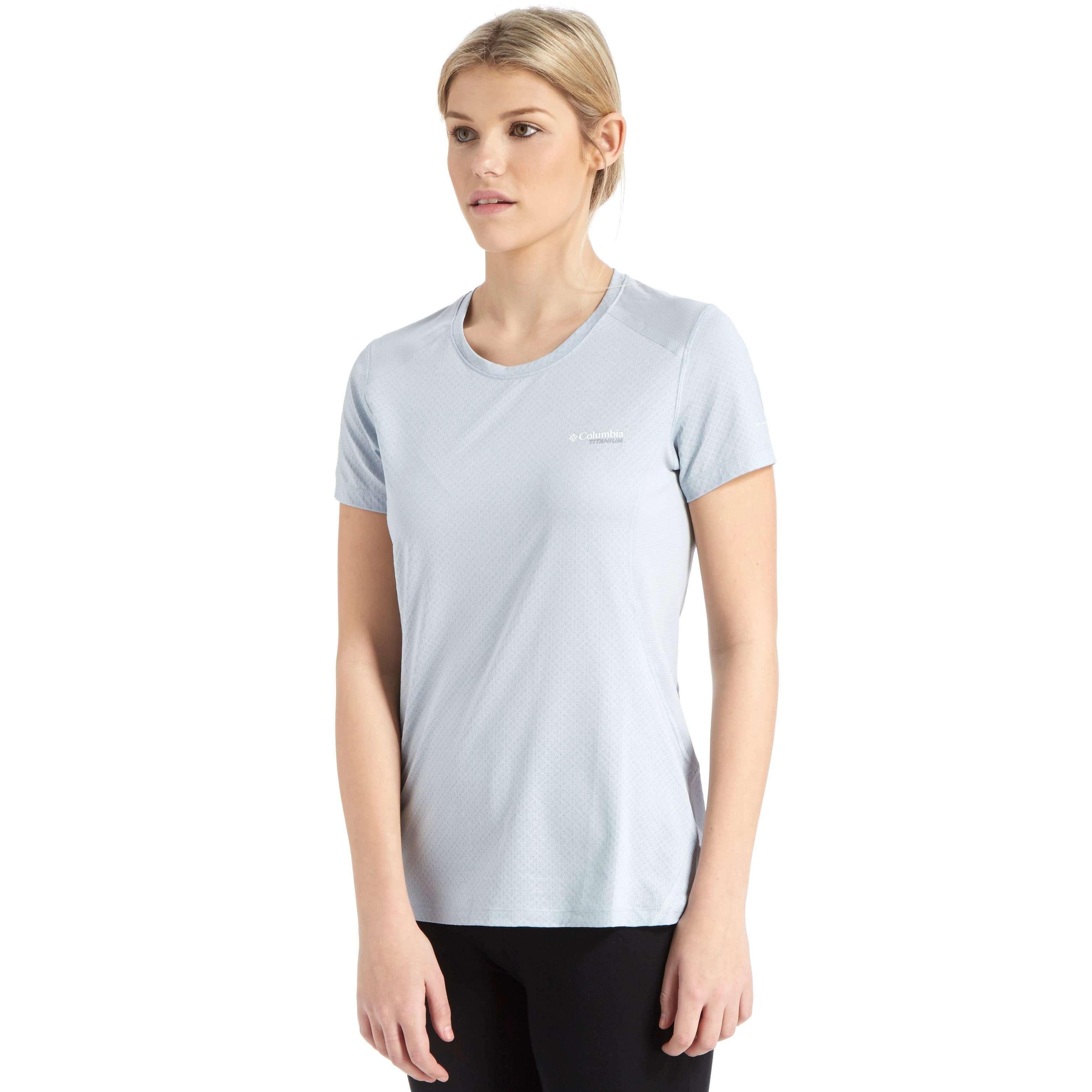 COLUMBIA Women's Titan Ice™ Short Sleeve Shirt