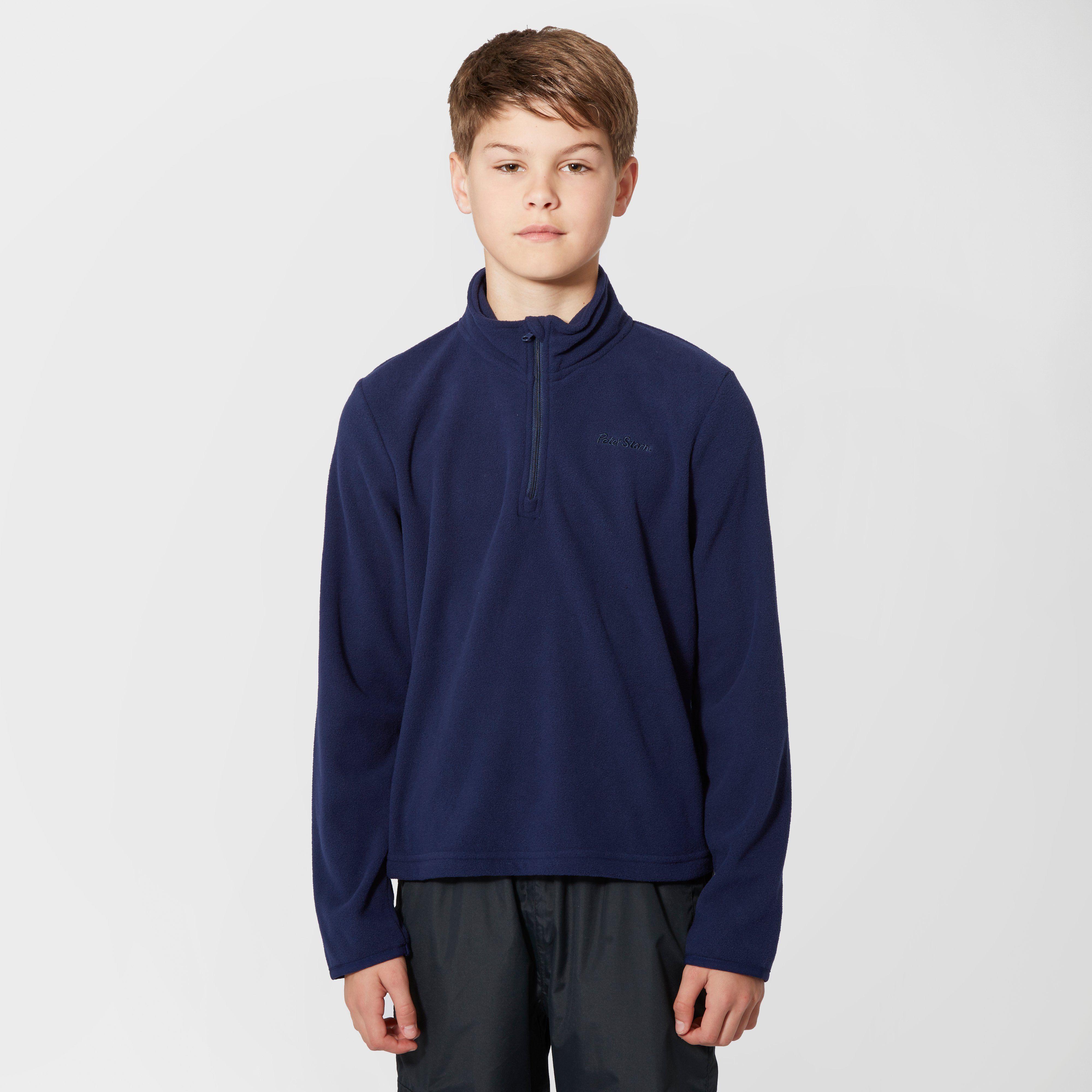 PETER STORM Kids' Unisex Coniston Half Zip Fleece