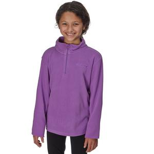 PETER STORM Girls' Coniston Half Zip Fleece