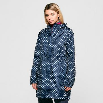 Blue Peter Storm Women's Parka in a Pack
