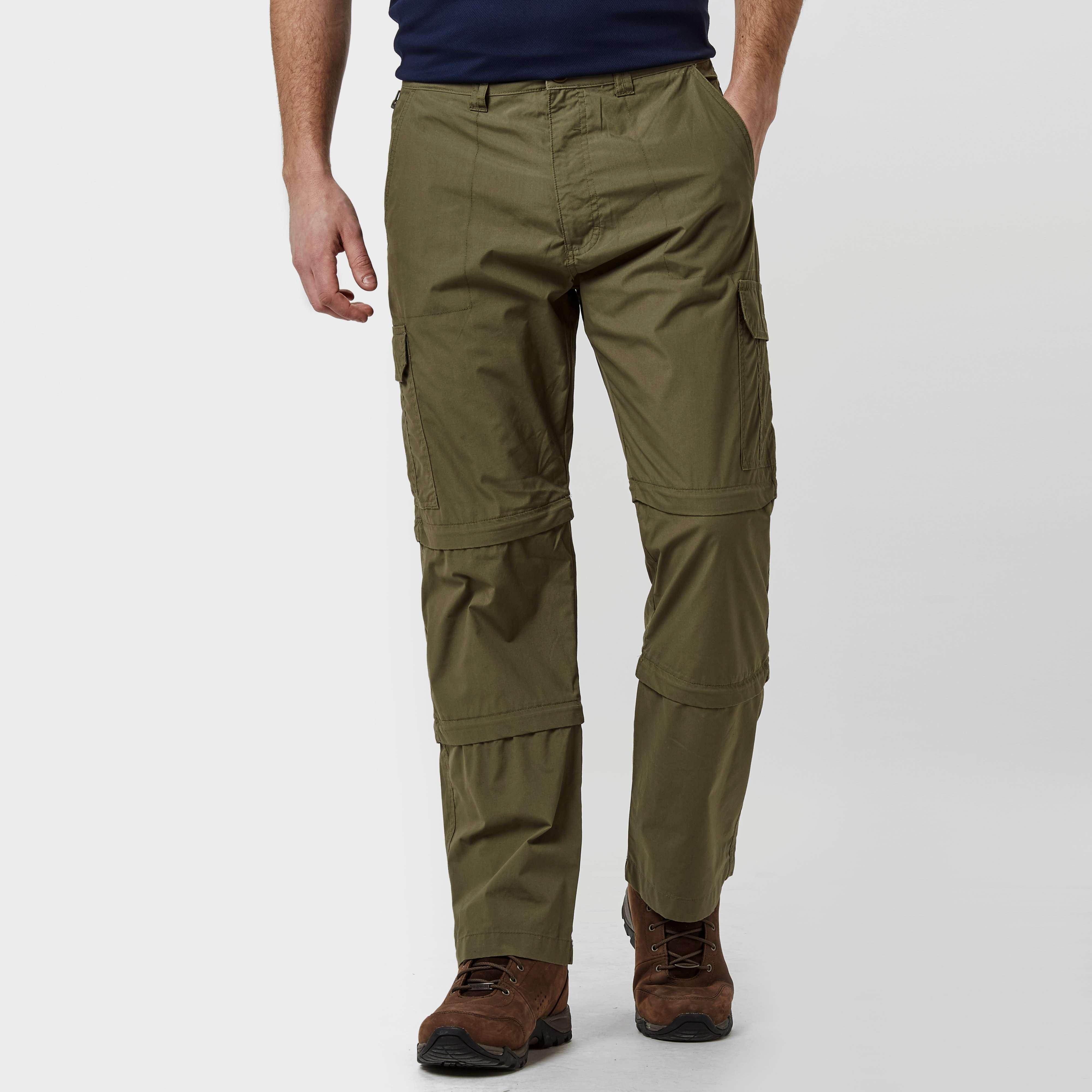 PETER STORM Men's Ramble Double Zip Off Trousers - Short
