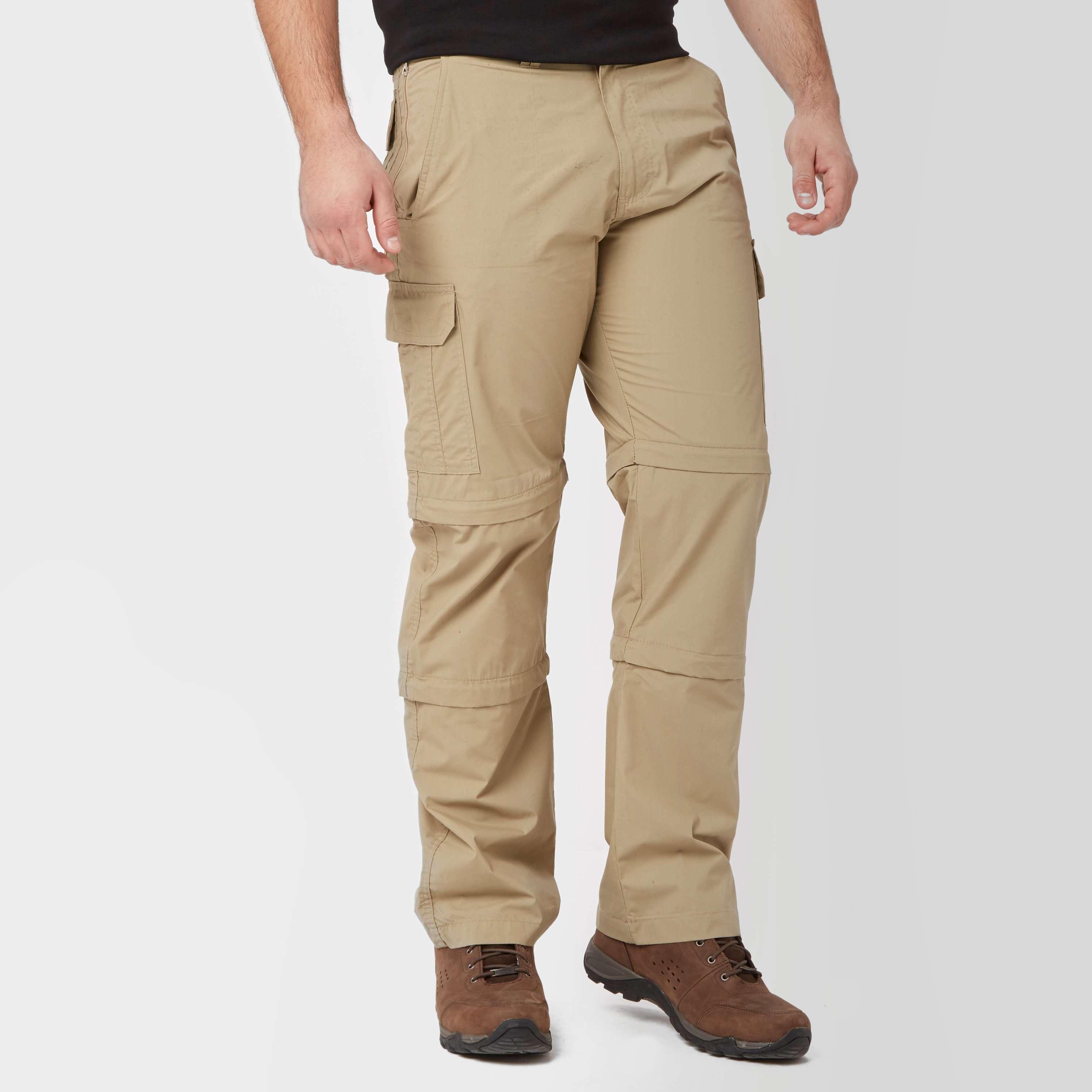 PETER STORM Men's Ramble Double Zip-Off Trousers (Regular)