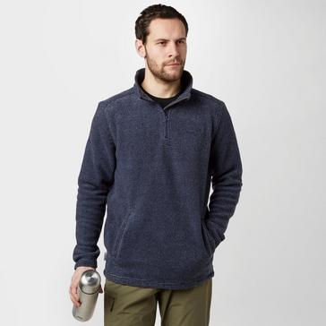Navy Peter Storm Men's Keswick Half Zip Fleece