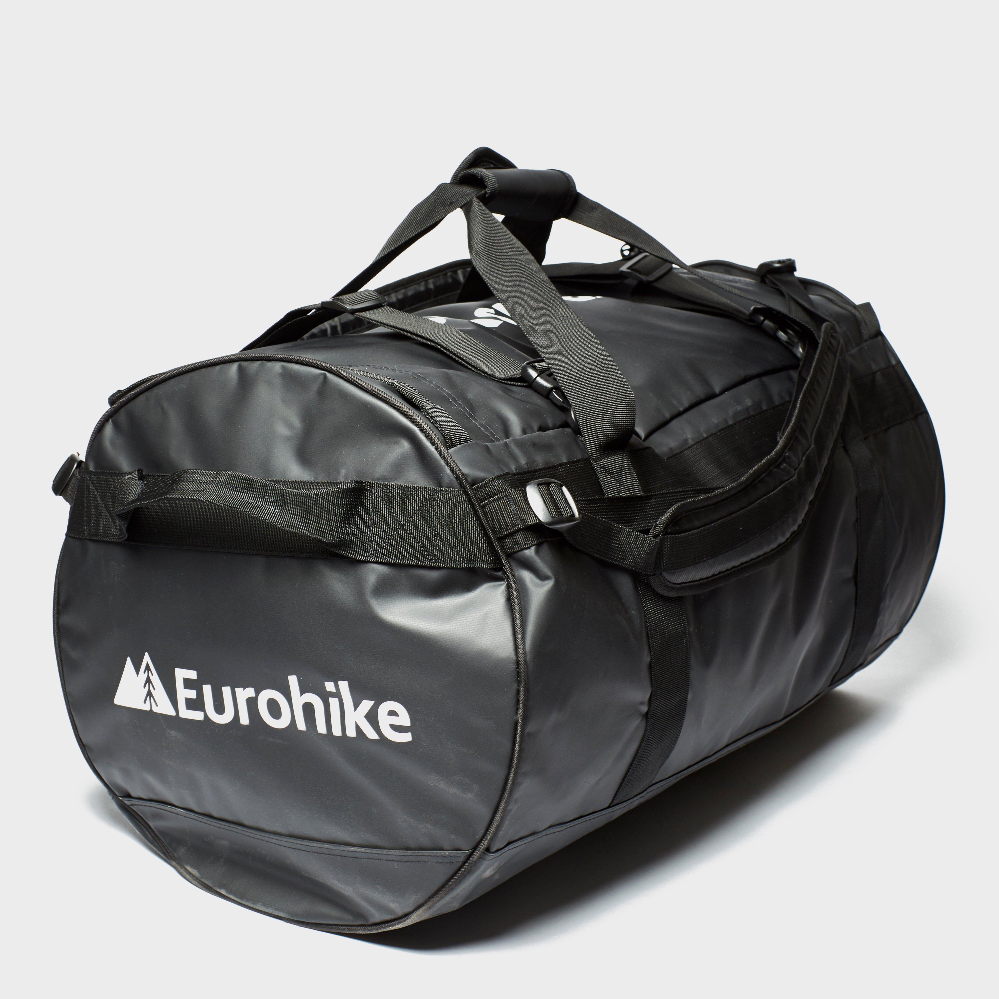 Eurohike Eurohike Transit 90L Cargo Bag - Black, Black