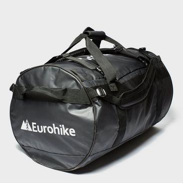 Black EUROHIKE Transit 90L Cargo Bag e5d68094db0e0