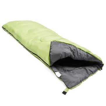 Light Green Eurohike Super Snooze 250 Sleeping Bag