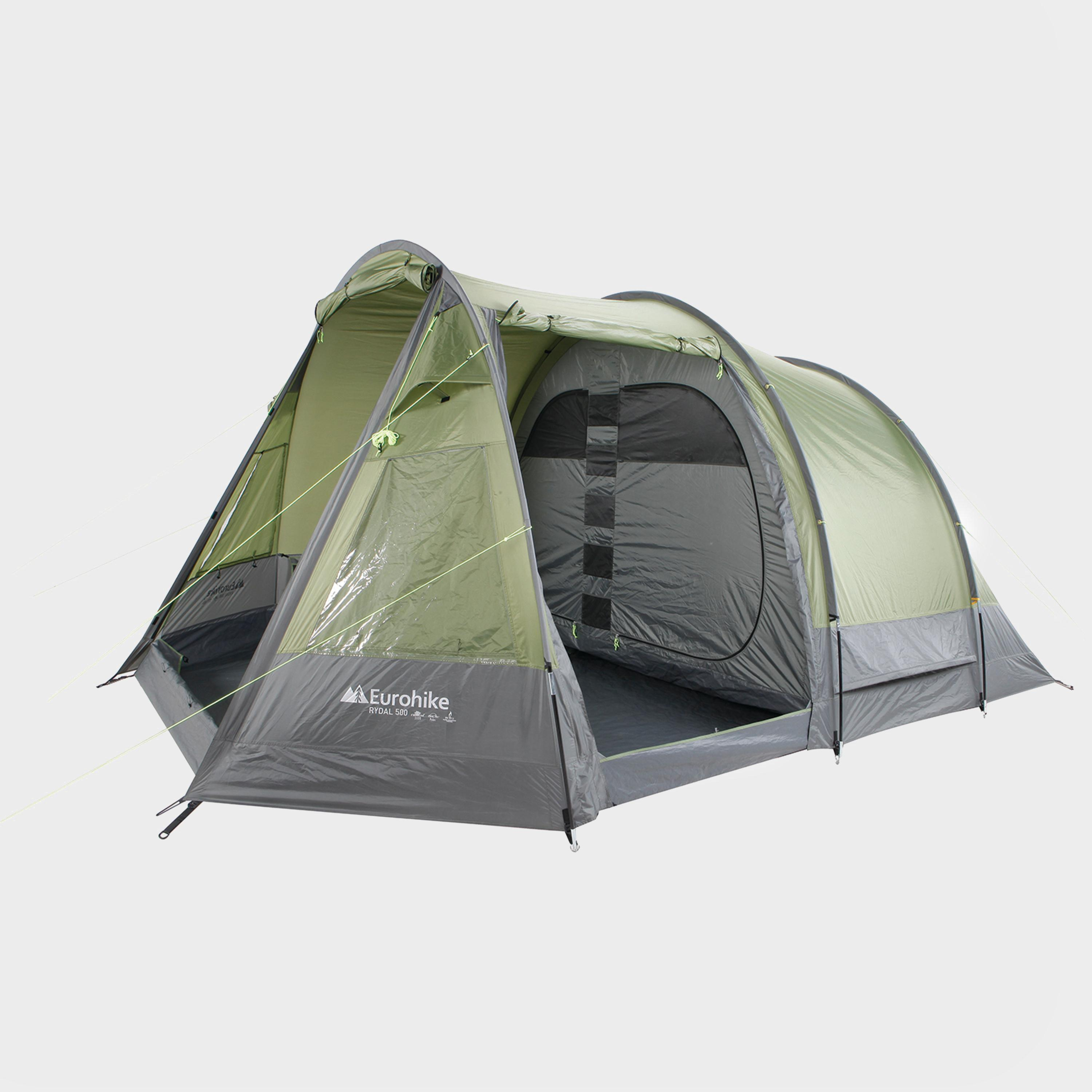 EUROHIKE Rydal 500 5 Man Tent  sc 1 st  Blacks : family tunnel tents uk - memphite.com