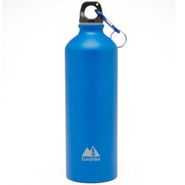 Blue Eurohike Aqua 0.75L Aluminium Water Bottle