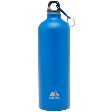 Blue Eurohike Aqua 1L Aluminium Bottle