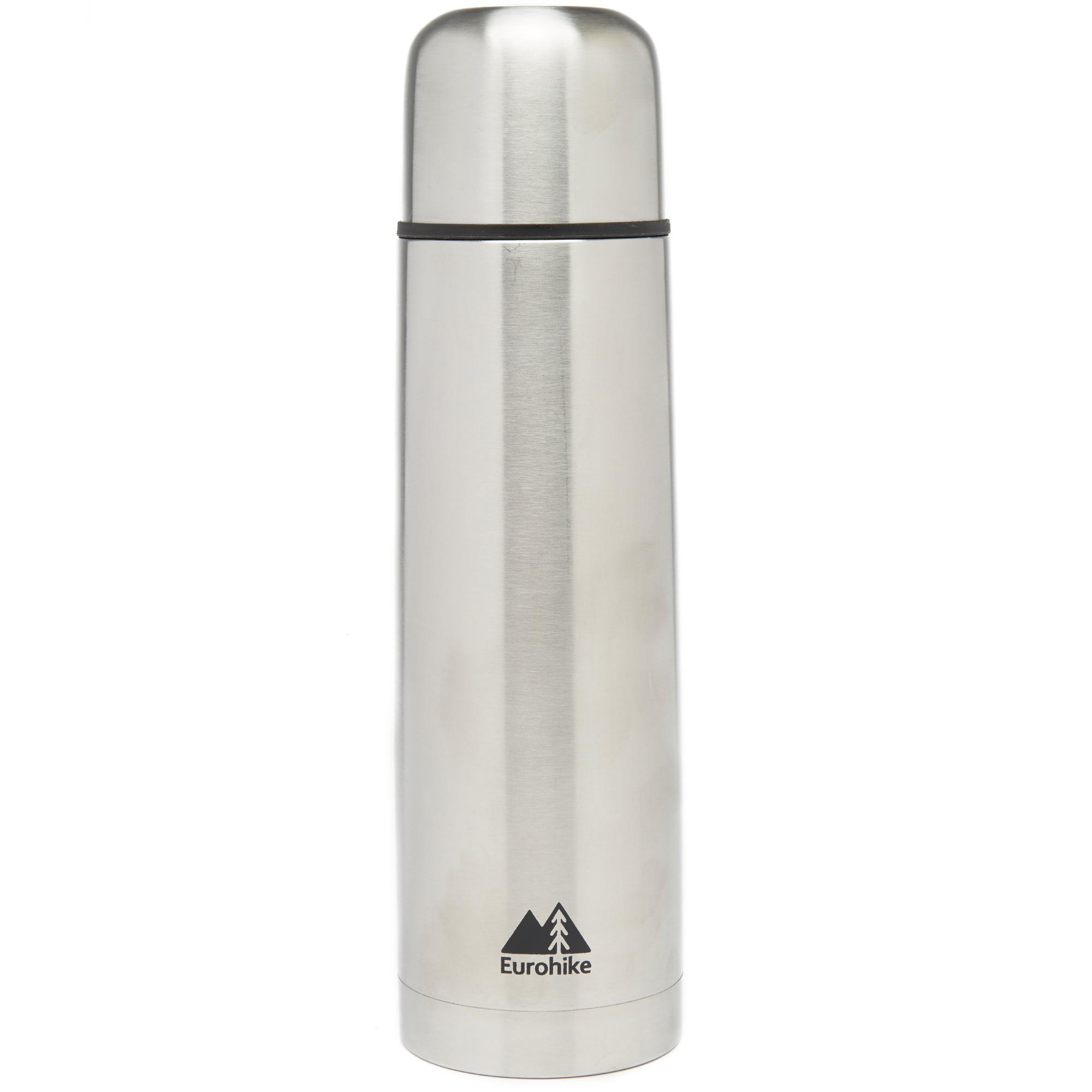 New Eurohike Stainless Steel Flask 1L Hydration Flasks Mugs