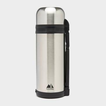 Silver Eurohike Stainless Steel Flask 1.5L