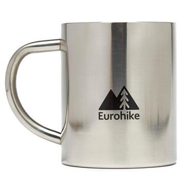 Silver Eurohike Stainless Steel Brew Mug