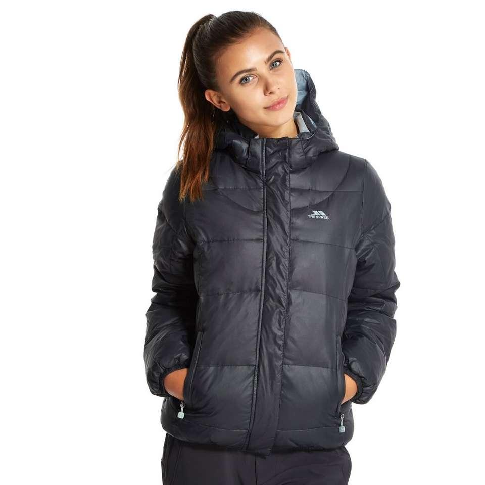 Trespass Women S Puffer Jacket Blacks