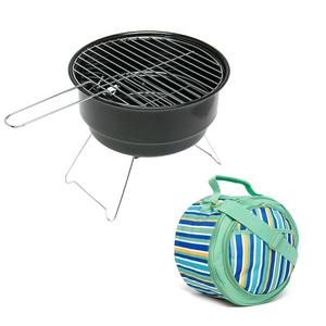 EUROHIKE Stripe BBQ with Cooler