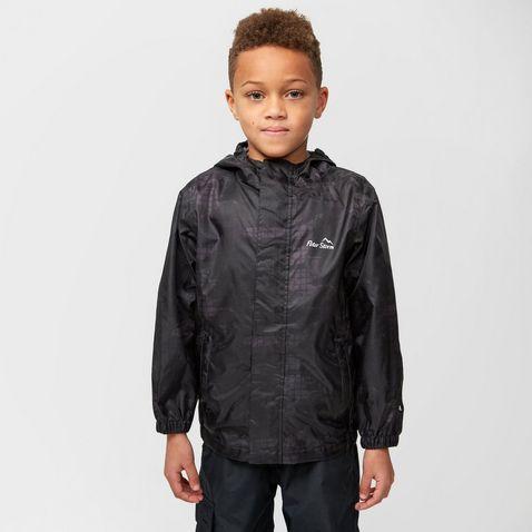 New Peter Storm Girls' Wendy Ii Waterproof Jacket Outdoor Clothing