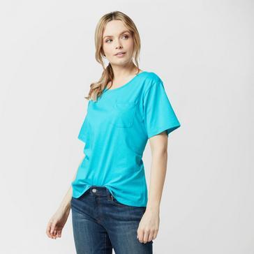 Teal Peter Storm Women's Angel Solid T-Shirt