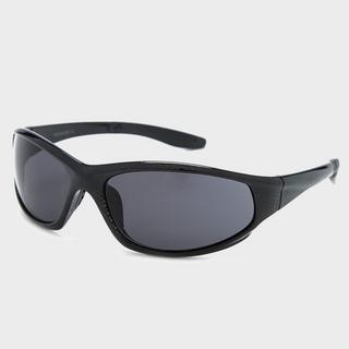 Men's Check Sport Wrap Sunglasses