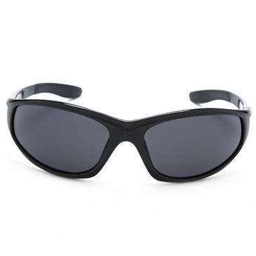Black Peter Storm Men's Check Sport Wrap Sunglasses