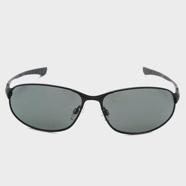 Black Peter Storm Men's Oval Metal Full Frame Sports Sunglasses