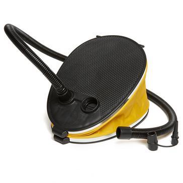 Yellow Eurohike 3L Bellows Foot Pump
