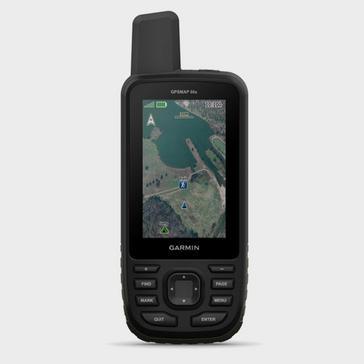 Black Garmin GPSMAP® 66s Topo Bundle