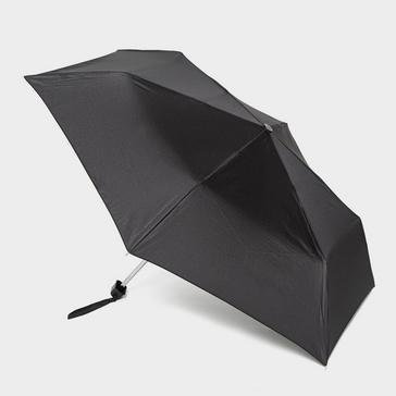 Black Fulton Mini-Flat 1 Umbrella