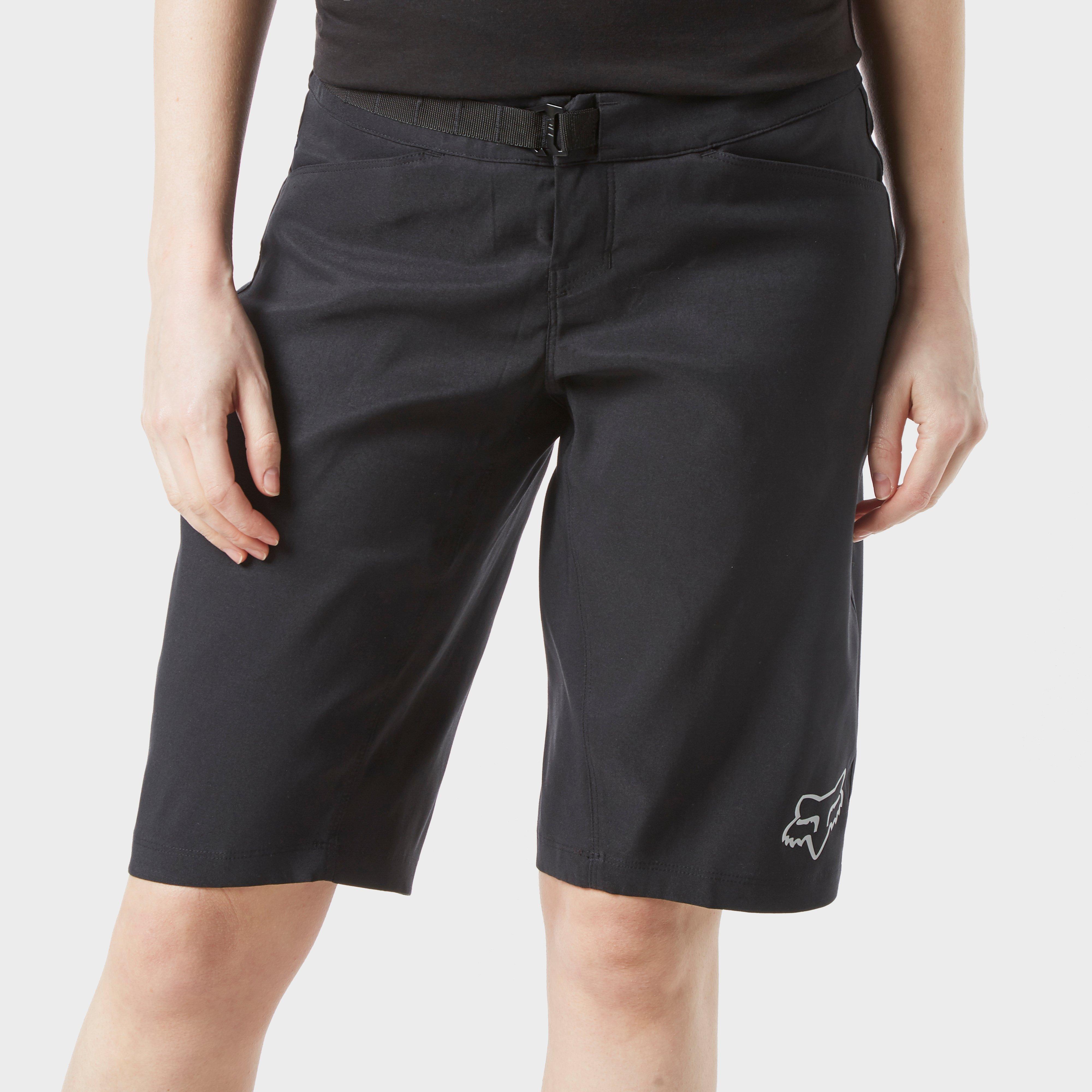 FOX Fox Womens Ranger Mountain Biker Shorts - Black, Black