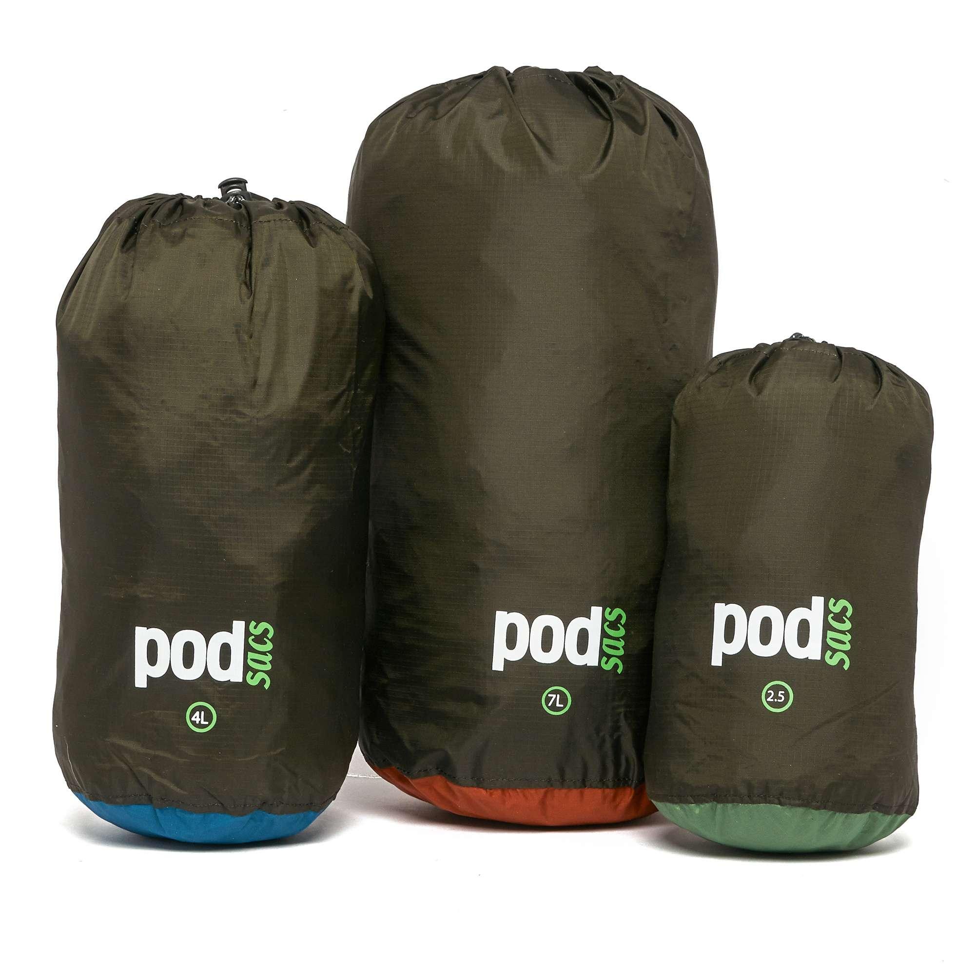 POD SAC Stuff Sack Multi-Pack