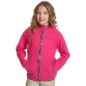 COLUMBIA Girl's Fast Trek Hooded Fleece