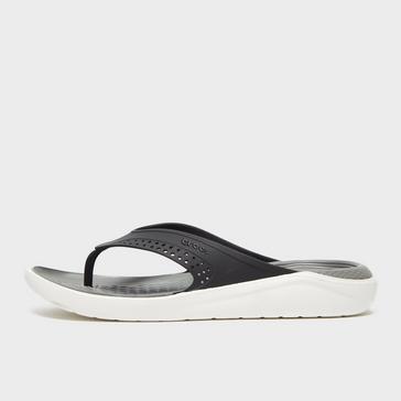 White Crocs Men's LiteRide™ Flip