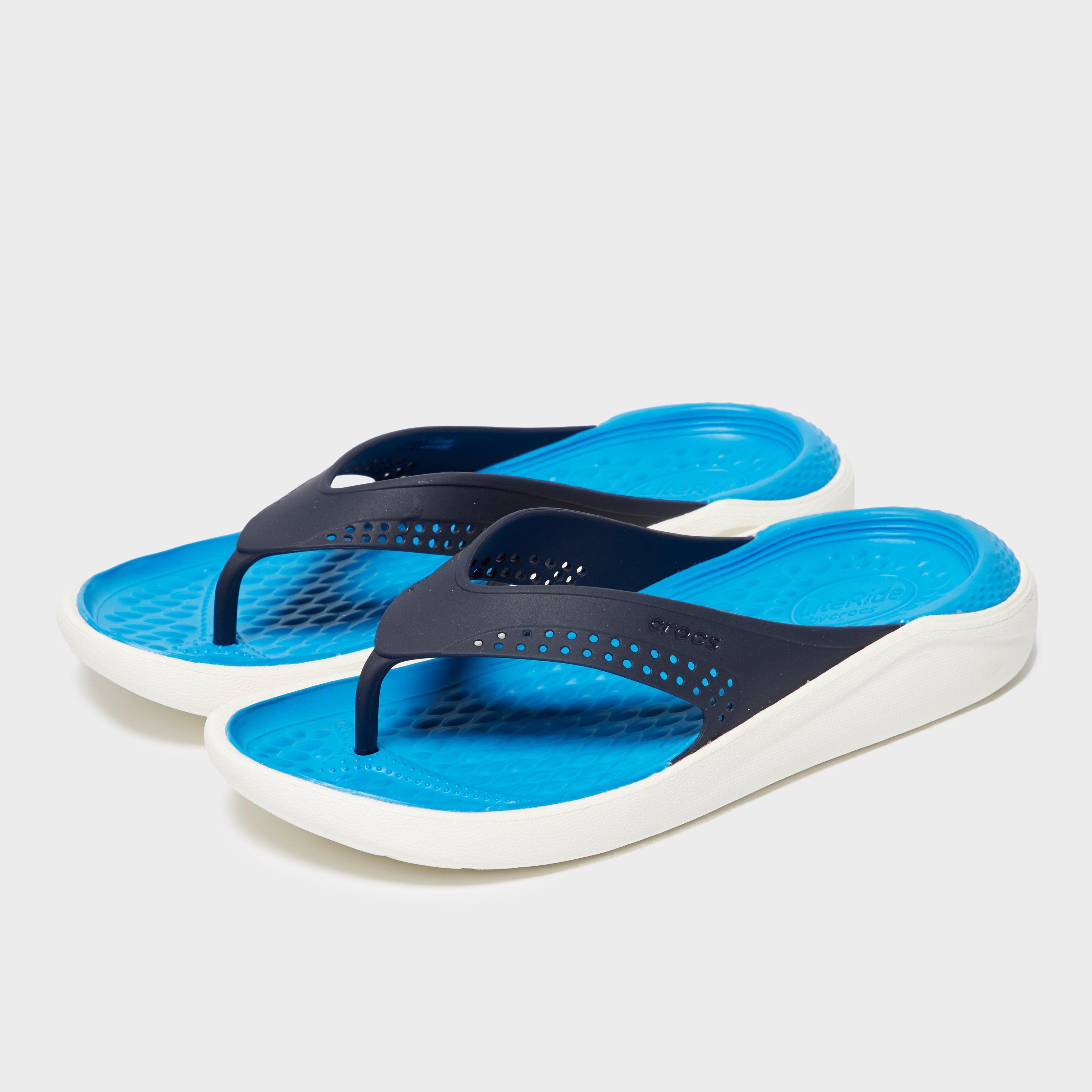 Crocs Women's Literide Flip - Blue/Navy, Blue/Navy
