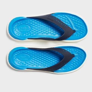 Navy Crocs Women's LiteRide™ Flips